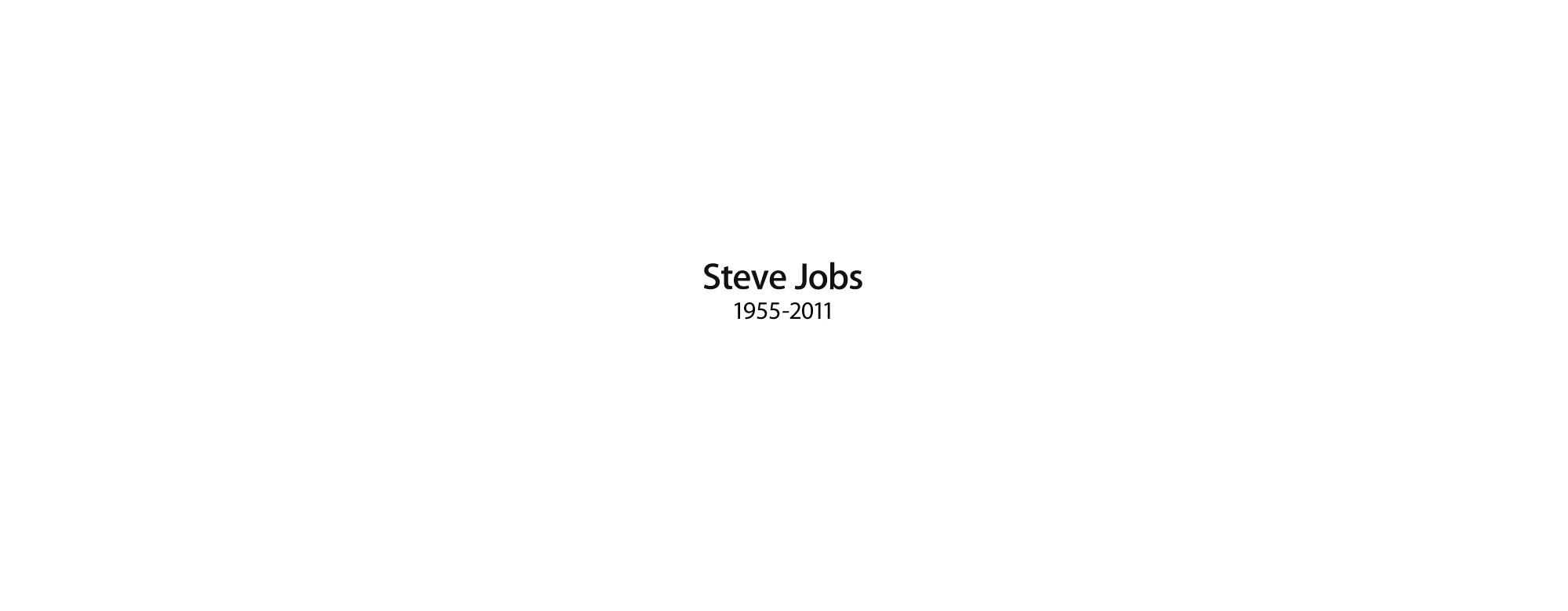 Thank You, Steve